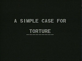 the case for torture by michael levin essay 'the case for torture' by michael levin in five pages this essay considers levin's article that supports torturing terrorist and opposes his arguments.