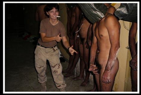 Prisoner forced masturbate