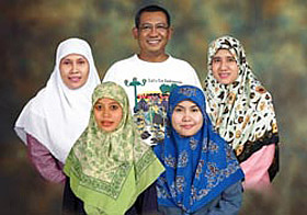 "Representations of Indonesia's polygamous life in ""Love ..."